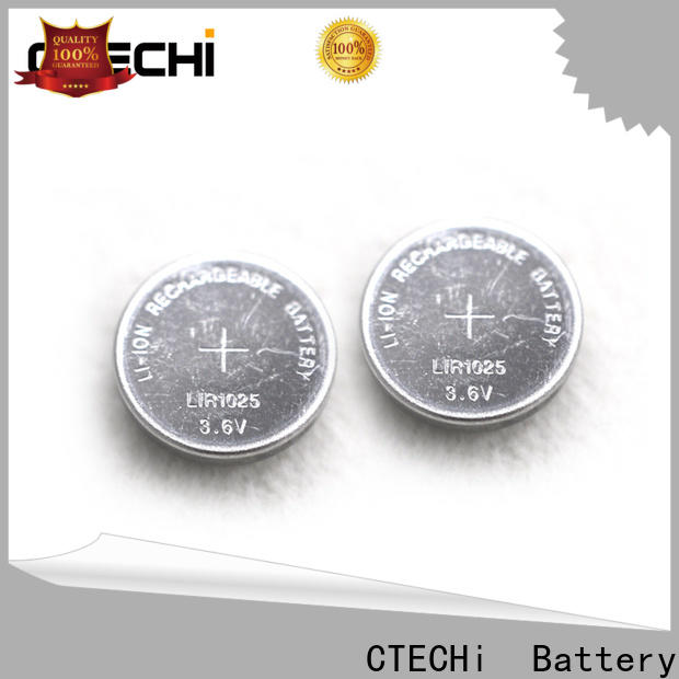 CTECHi electronic rechargeable c batteries factory for watch