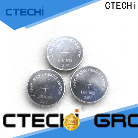 CTECHi rechargeable coin batteries factory for car key