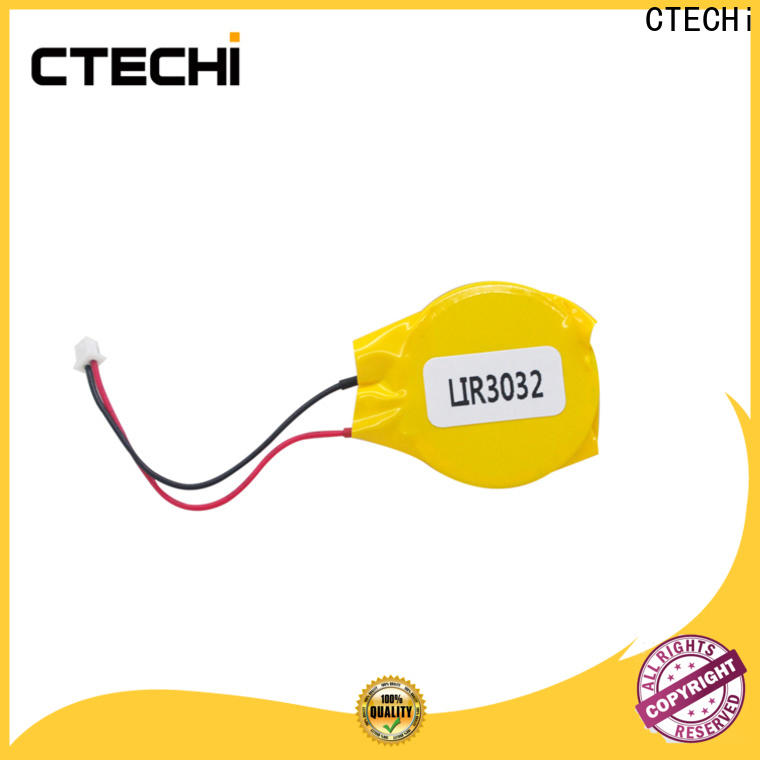 CTECHi small rechargeable coin cell battery factory for watch