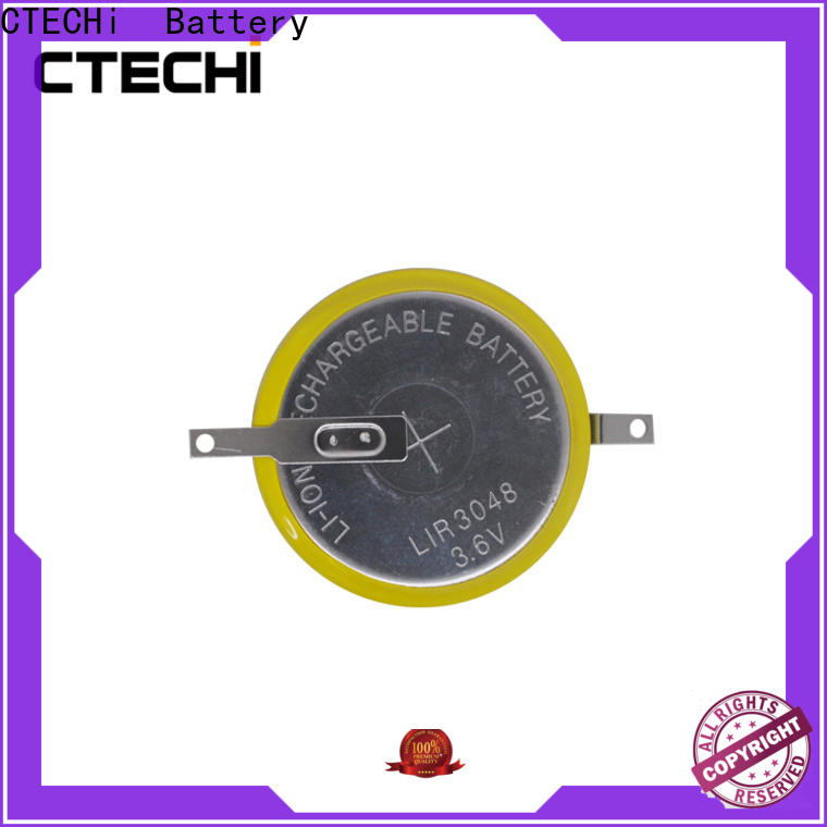 digital rechargeable button cell manufacturer for car key