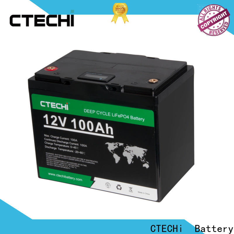 CTECHi lifepo4 pack supplier for Cleaning Machine
