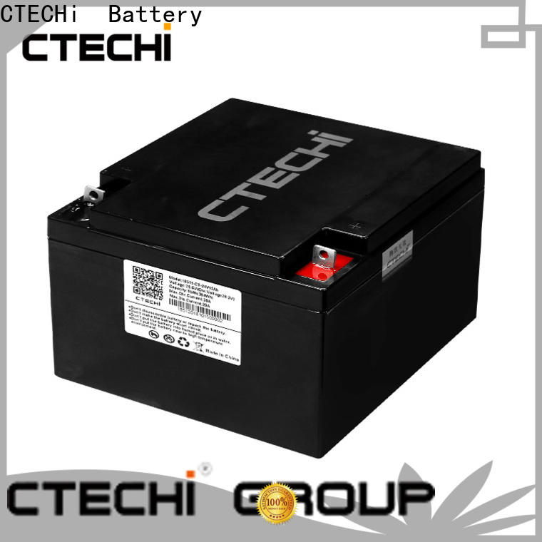 CTECHi LiFePO4 Battery Pack customized for Golf Trolley