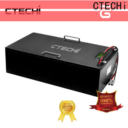 CTECHi 12v lifepo4 battery charger customized for solar energy
