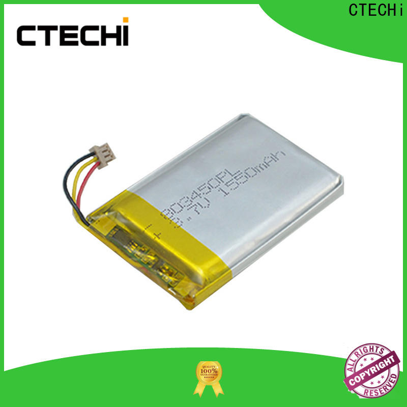 CTECHi square lithium polymer battery life customized for