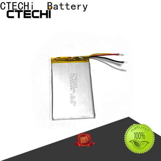 conventional lithium polymer battery personalized for