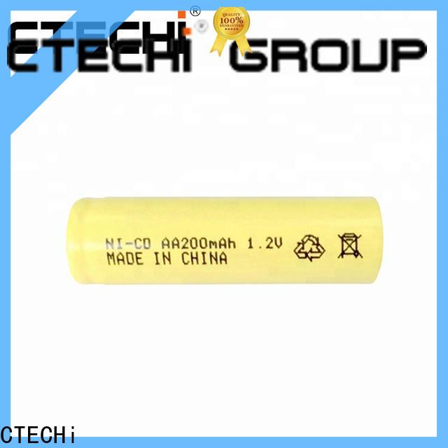 CTECHi aa size nickel-cadmium battery factory for emergency lighting