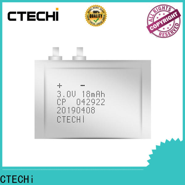CTECHi ultra-thin battery directly sale for manufacture