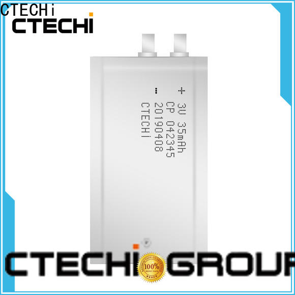 CTECHi micro-thin battery manufacturer for industry