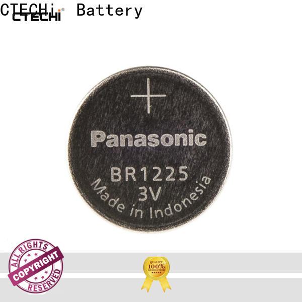 CTECHi stable panasonic lithium battery supplier for flashlight