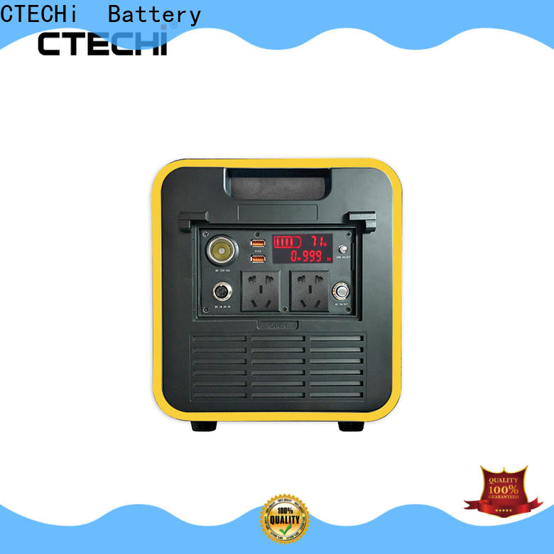 certificated lithium portable power station manufacturer for household