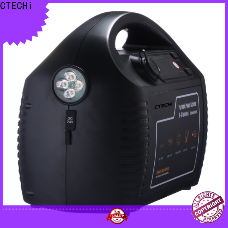 CTECHi quality 1000w power station manufacturer for camping