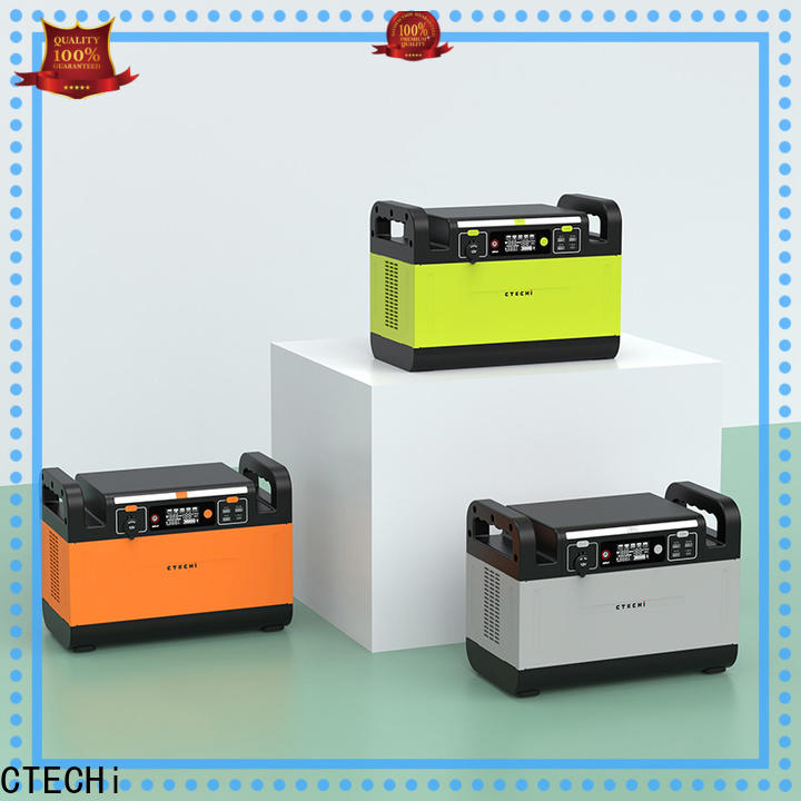 CTECHi mobile power station manufacturer for household
