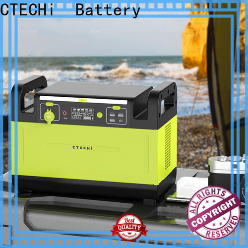 CTECHi mobile power station factory for back up