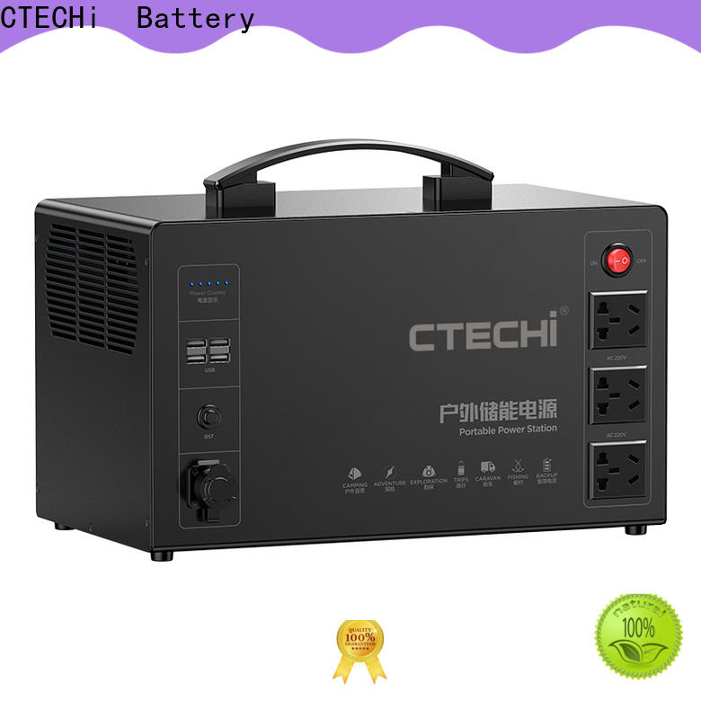 CTECHi mobile power station factory for household
