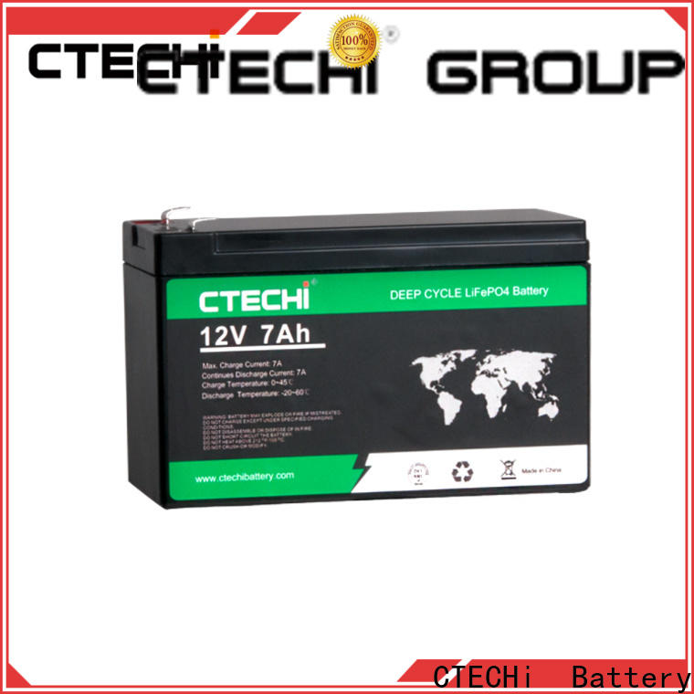 CTECHi lifepo4 power pack supplier for RV