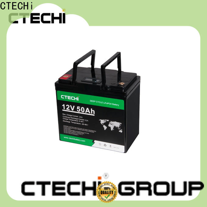 CTECHi stable lifepo4 battery case manufacturer for RV