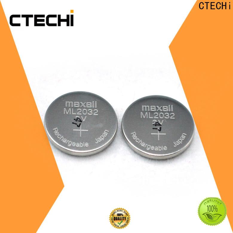 CTECHi rechargeable button batteries wholesale for car key