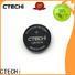 small lithium coin cell battery supplier for instrument