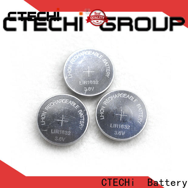 small rechargeable button batteries design for watch