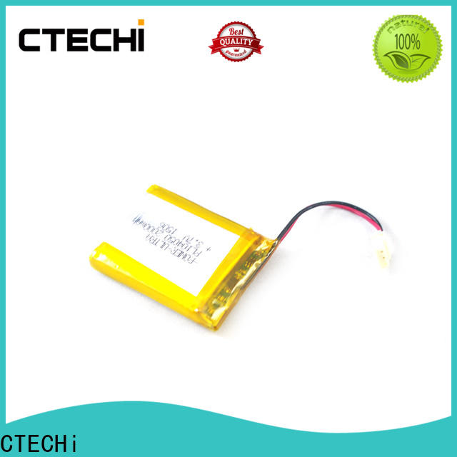 CTECHi quality lithium polymer battery personalized for electronics device