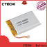 CTECHi square li-polymer battery series for electronics device