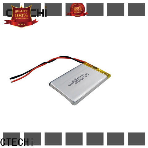 CTECHi smart lithium polymer battery 12v supplier for smartphone
