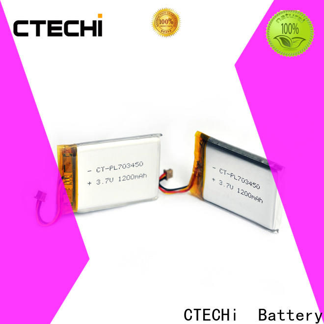 CTECHi digital lithium polymer battery charger customized for phone