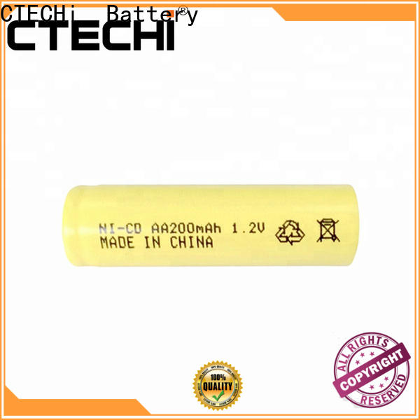 CTECHi wide temperature range saft ni cd battery factory for sweeping robot