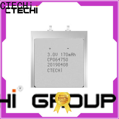 CTECHi ultra-thin battery manufacturer for industry