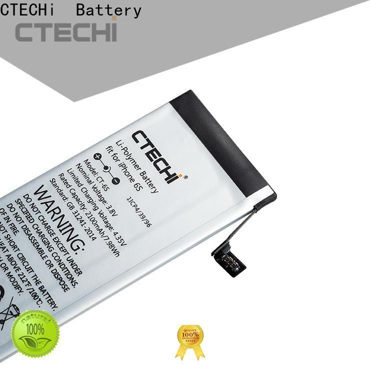 CTECHi 1940mah iPhone battery design for store