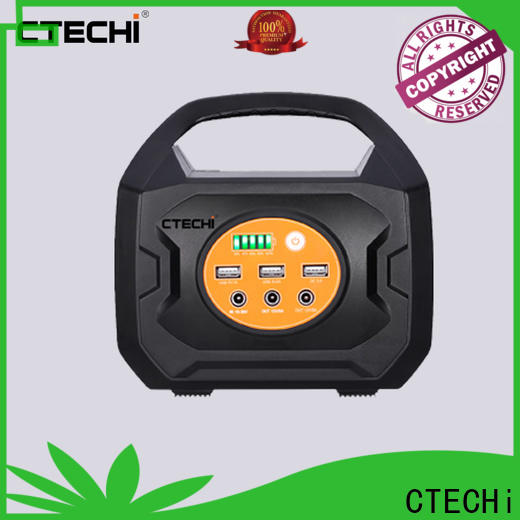 CTECHi professional camping power station personalized for hospital