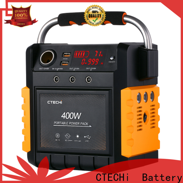 CTECHi lithium battery power station factory for commercial