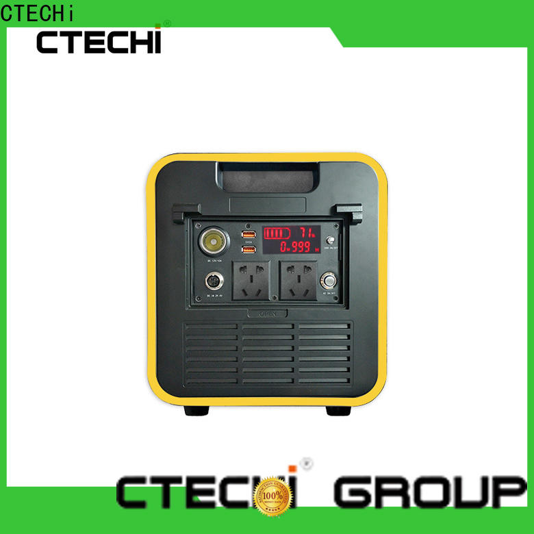 CTECHi 1000w power station customized for hospital