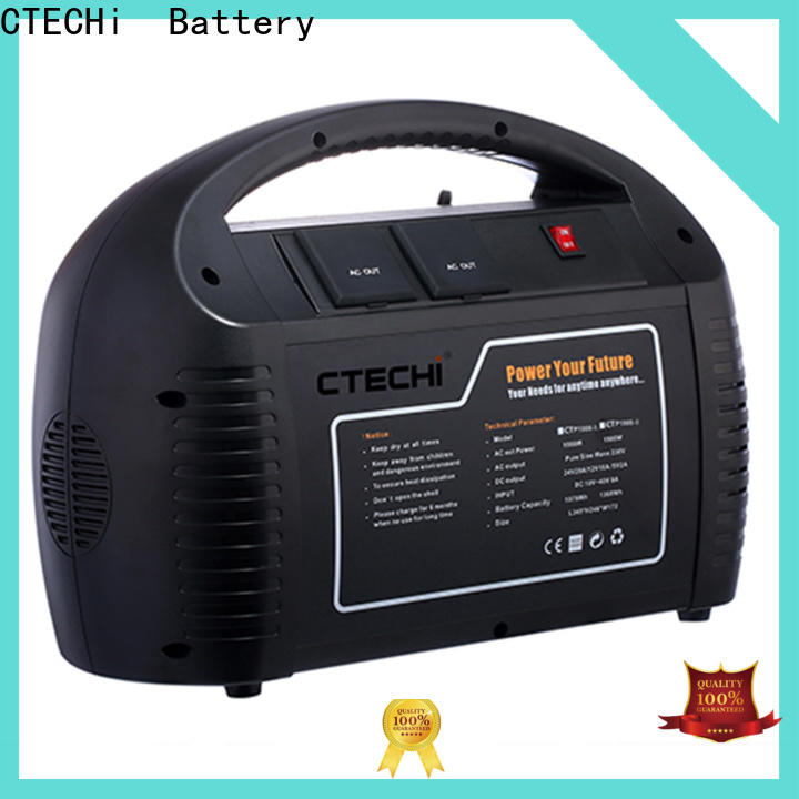 CTECHi professional best camping power station personalized for back up