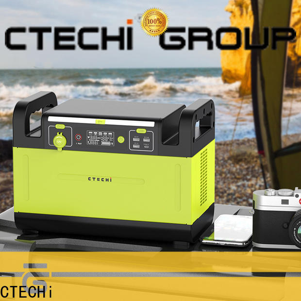 CTECHi sturdy lifepo4 power station manufacturer for outdoor