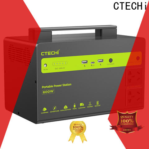 CTECHi sturdy lithium battery power station customized for camping