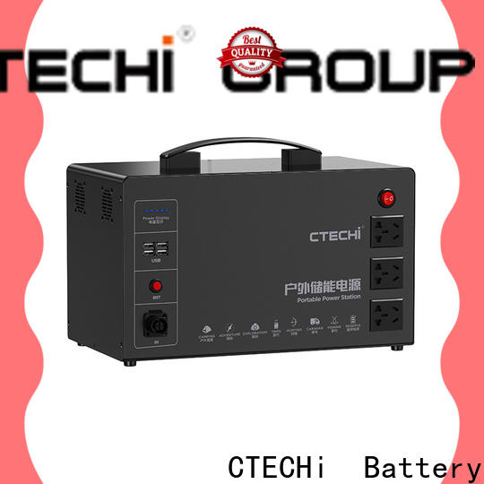 CTECHi professional portable solar power station personalized for outdoor