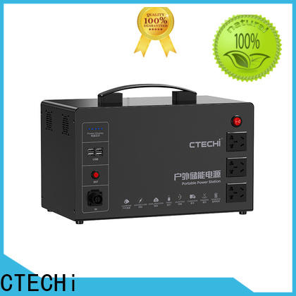 CTECHi quality portable solar power station manufacturer for camping
