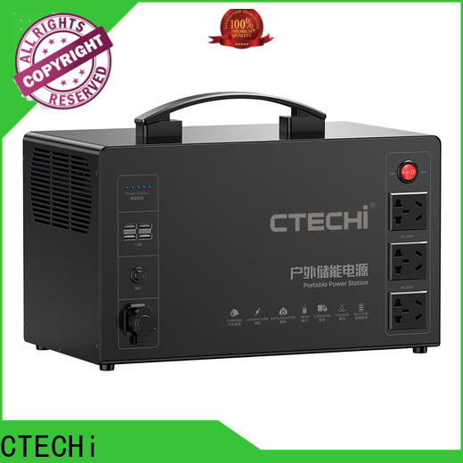 certificated lifepo4 power station manufacturer for outdoor