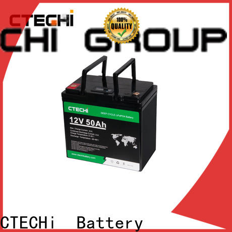 CTECHi LiFePO4 Battery Pack supplier for AGV
