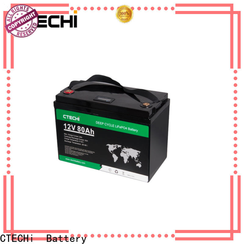 CTECHi lifepo4 power pack manufacturer for Golf Carts
