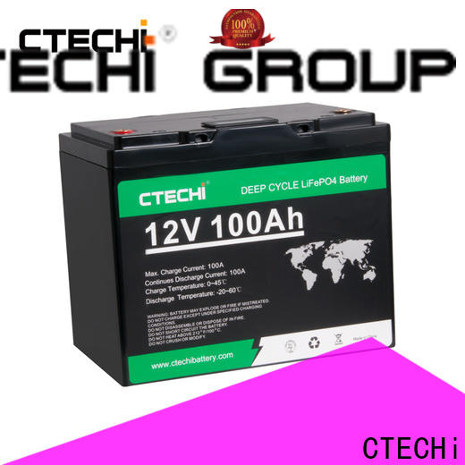 CTECHi durable lifepo4 power pack factory for Cleaning Machine