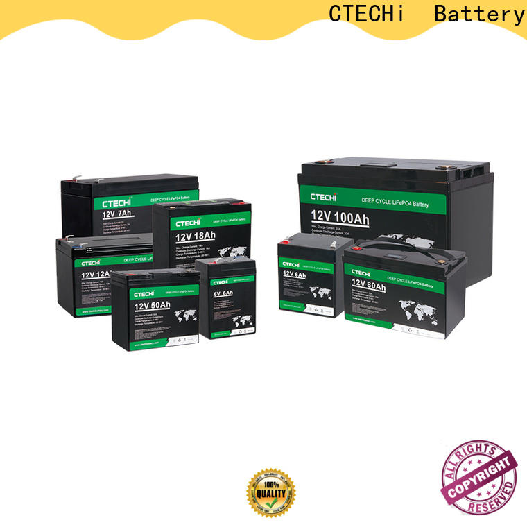 high quality lifep04 battery pack manufacturer for Boats