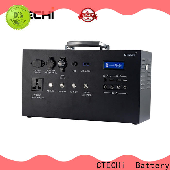 CTECHi rechargeable battery pack supplier for power bank