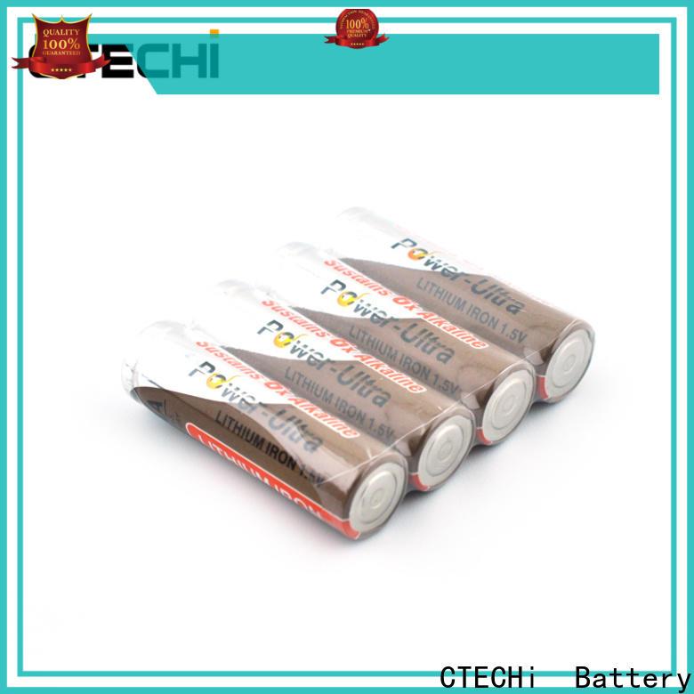 CTECHi digital li-fes2 battery supplier for cameras