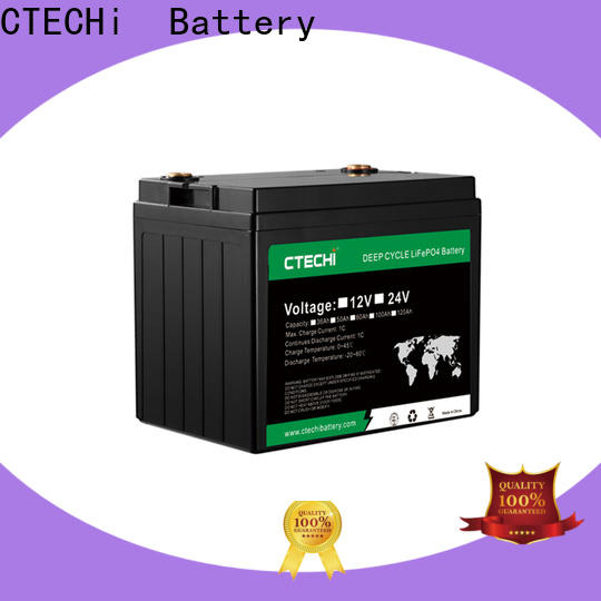 CTECHi durable lifepo4 battery case factory for RV