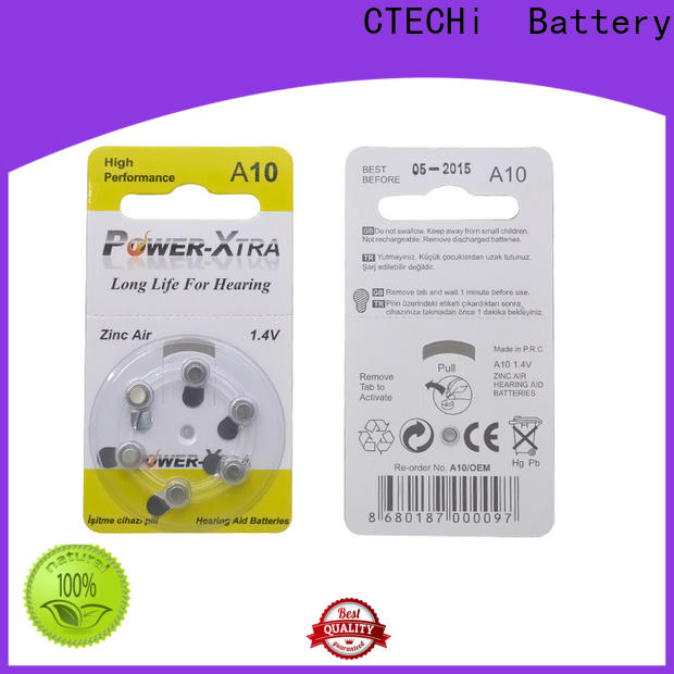 CTECHi zinc air battery supplier for remote key