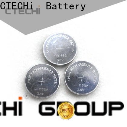 CTECHi rechargeable coin batteries wholesale for car key