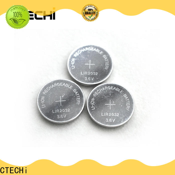 CTECHi digital rechargeable button batteries manufacturer for household