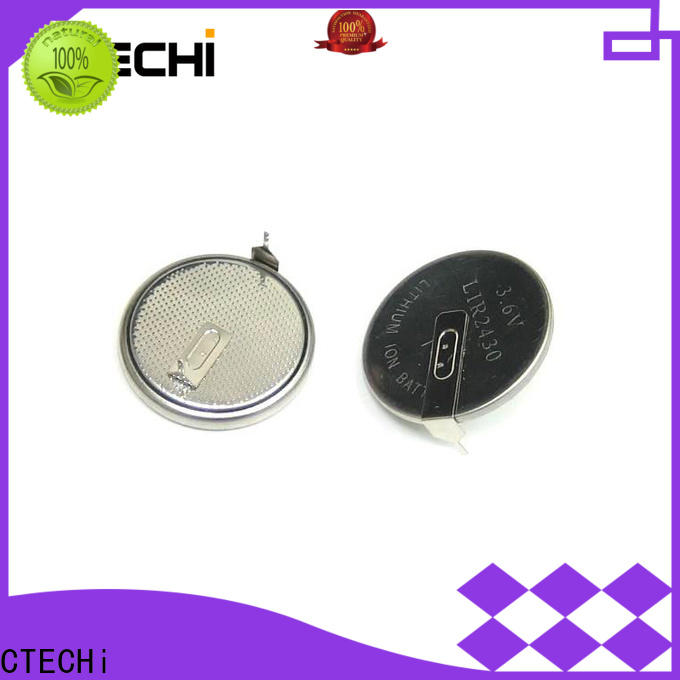 CTECHi rechargeable button cell design for watch